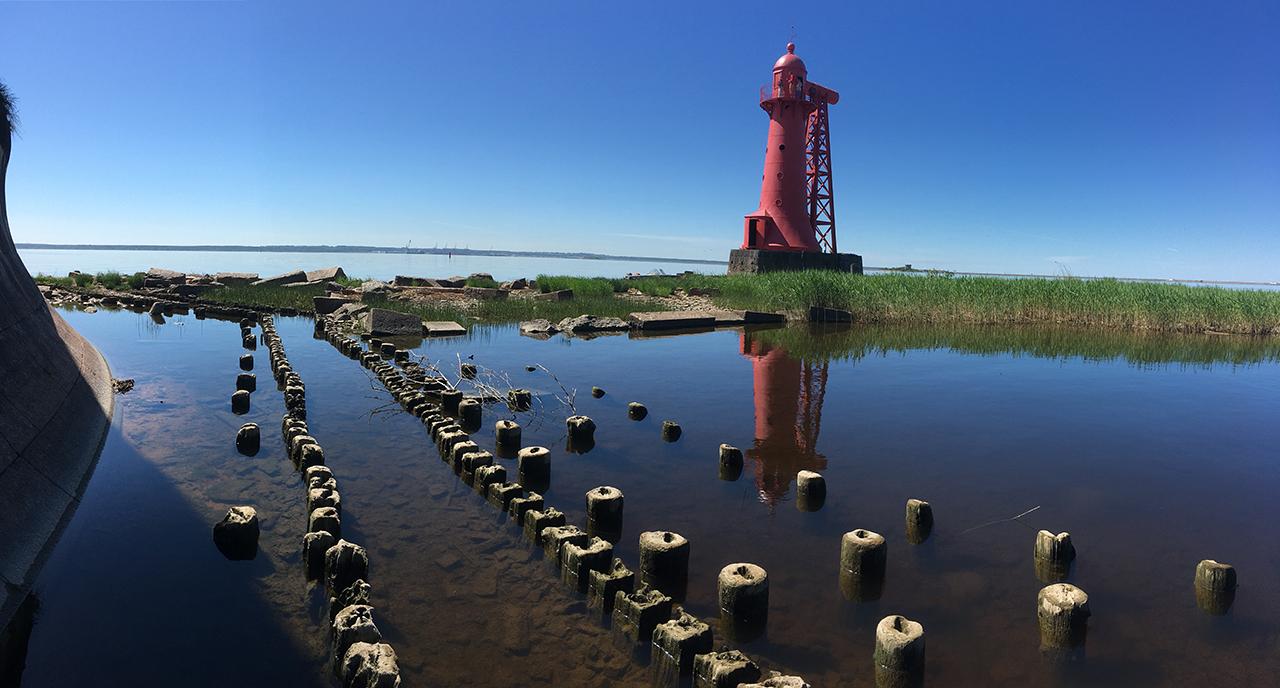 Нижний Николаевский маяк.