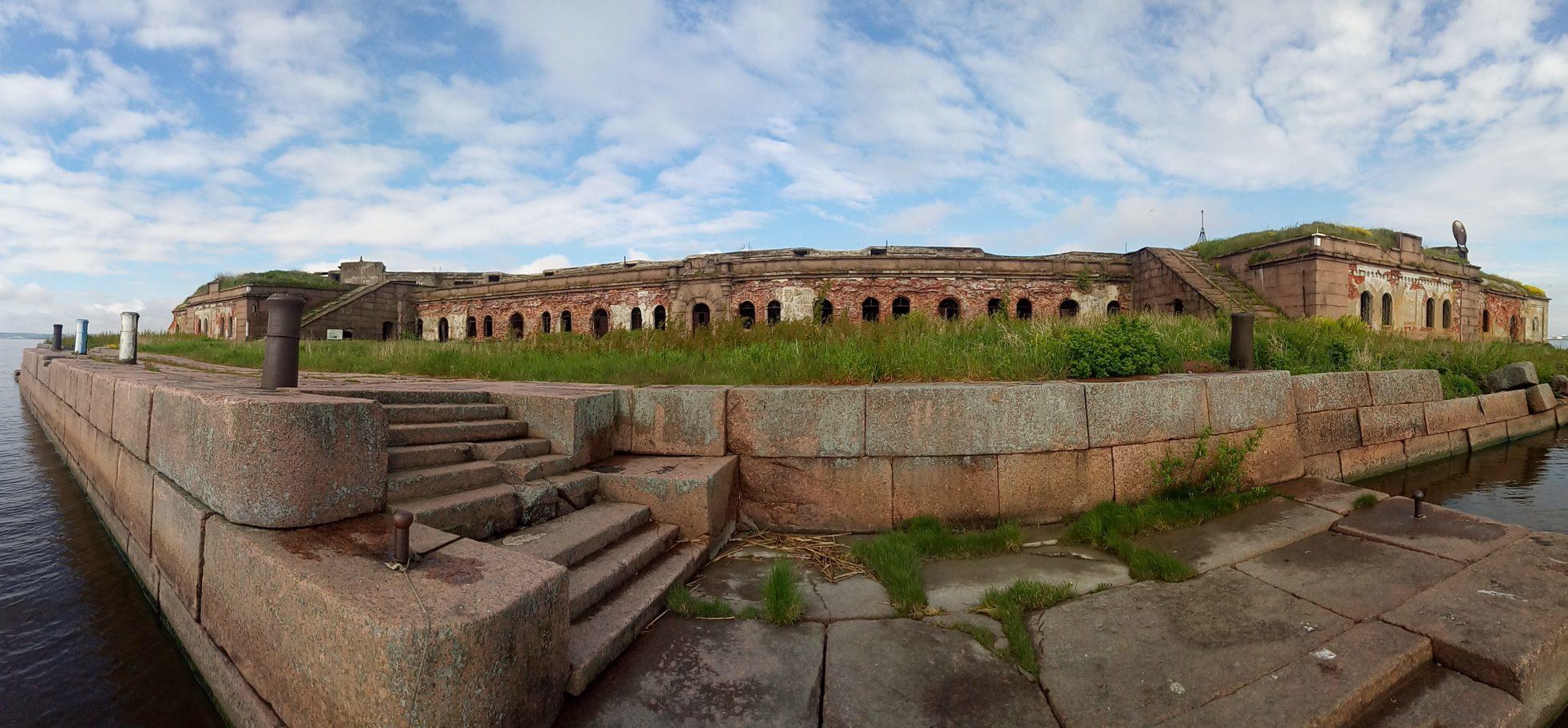 Панорама форта Граф Милютин.